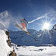 Freeride under Titlis