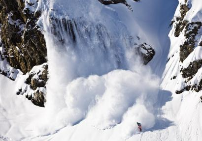 Photo: Tero Repo, Rider: Xavier de Le Rue, Location: Engelberg, Swiss